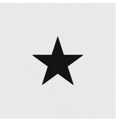 star icon simple vector image