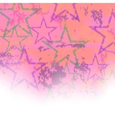 Starry Grunge Background vector image vector image