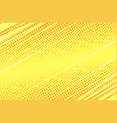 yellow modern stripe dynamics background vector image