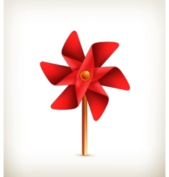 Pinwheel toy vector image