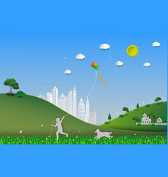 World environment daysave the earth and nature vector