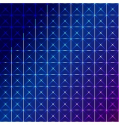 Blue square abstract background vector