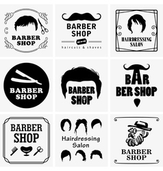 Barbershop graphics vector