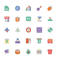 Trade icons 4 vector