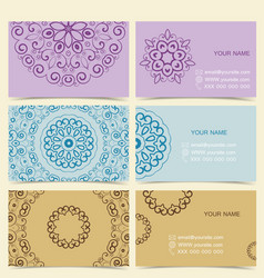 Cards Designs vector image