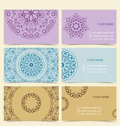 Cards Designs vector image vector image