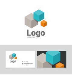 logo design element 19 vector image vector image