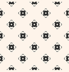 ornamental seamless pattern with carved flower vector image vector image