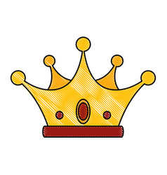 Crown icon image vector