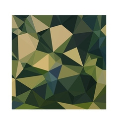 English green abstract low polygon background vector