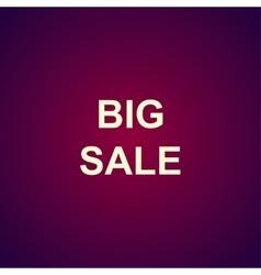 Big sale bag sign icon special offer symbol vector