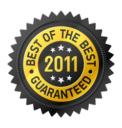 Best of the best 2011 label vector