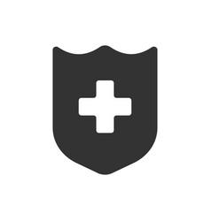 health icon glyph style vector image vector image