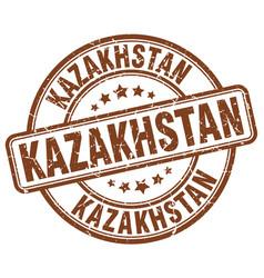 Kazakhstan stamp vector