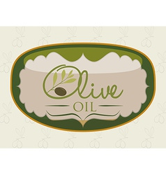olive oil vector image