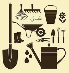 Organic farming vector image