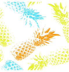 tropical fruit on a white background bright vector image