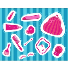 Womens clothes vector image