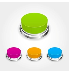 buttons vector image