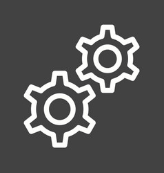 Cog wheels vector