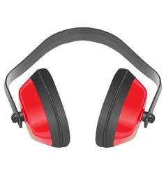 earmuffs vector image vector image