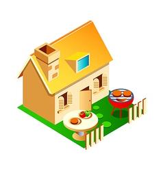 Icon house vector