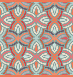Seamless reto pattern vector