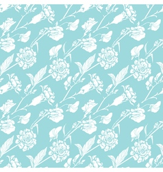 blue flowers 6 380 vector image