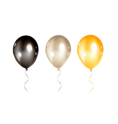Balloons collection isolated vector