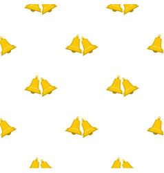 Bells pattern seamless vector