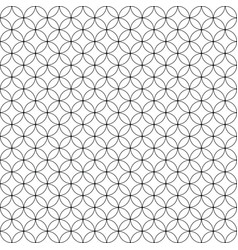 circles pattern for design vector image vector image