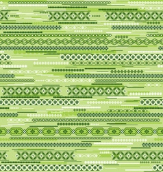 green geometric seamless vector image vector image