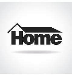 Home logo concept vector image