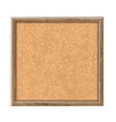 Cork Board vector image