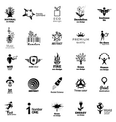 Color Corporate Icon Collection vector image