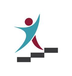 Success coach logo vector