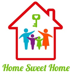 SweetHome vector image vector image