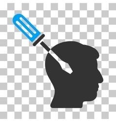 Intellect screwdriver tuning icon vector
