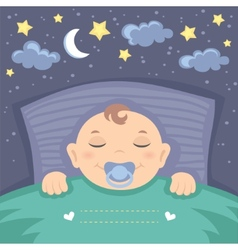 Sweet dreams vector image