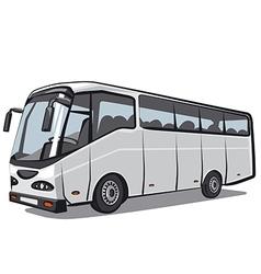 city bus vector image