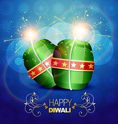 Diwali background vector