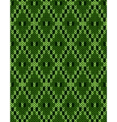 Jacquard ornament texture vector image vector image
