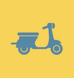 Vespa bike vector