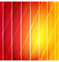 Color orange and red background with lines vector
