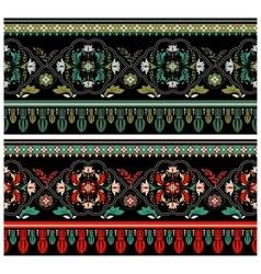 Decorative colorful border vector image
