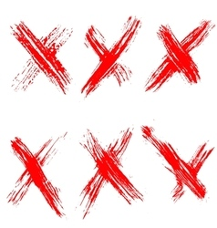 collection no signs vector image