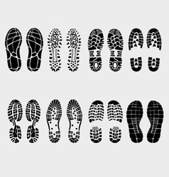 Prints of shoe vector