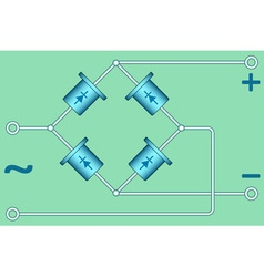 Diode bridge vector