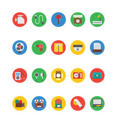 Electronics icons 8 vector