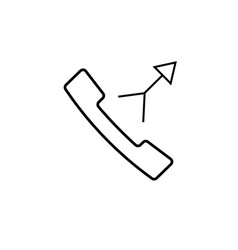 Merge call icon vector